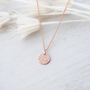 GLEE-Dearest Rose Gold Necklace