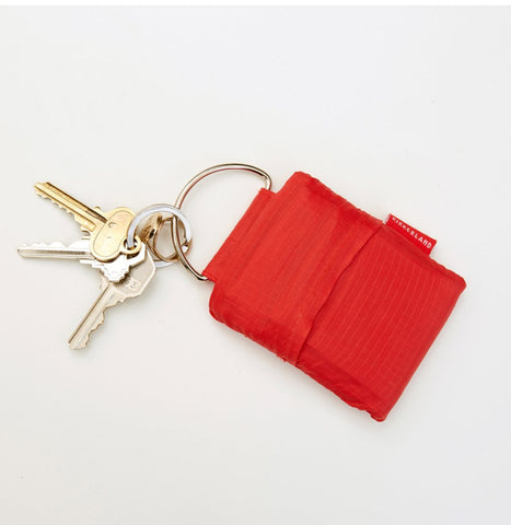 Key Ring Shopping Bag - Red