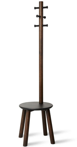 Pillar Stool/Coat Rack