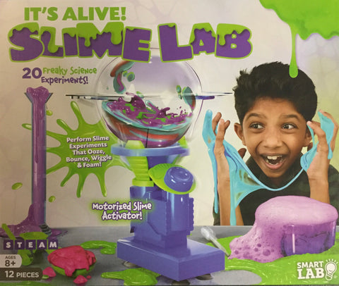 ITS ALIVE! -Slime Lab