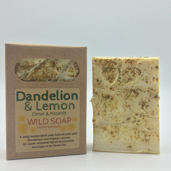 Laughing Lichen Dandelion & Lemon Soap
