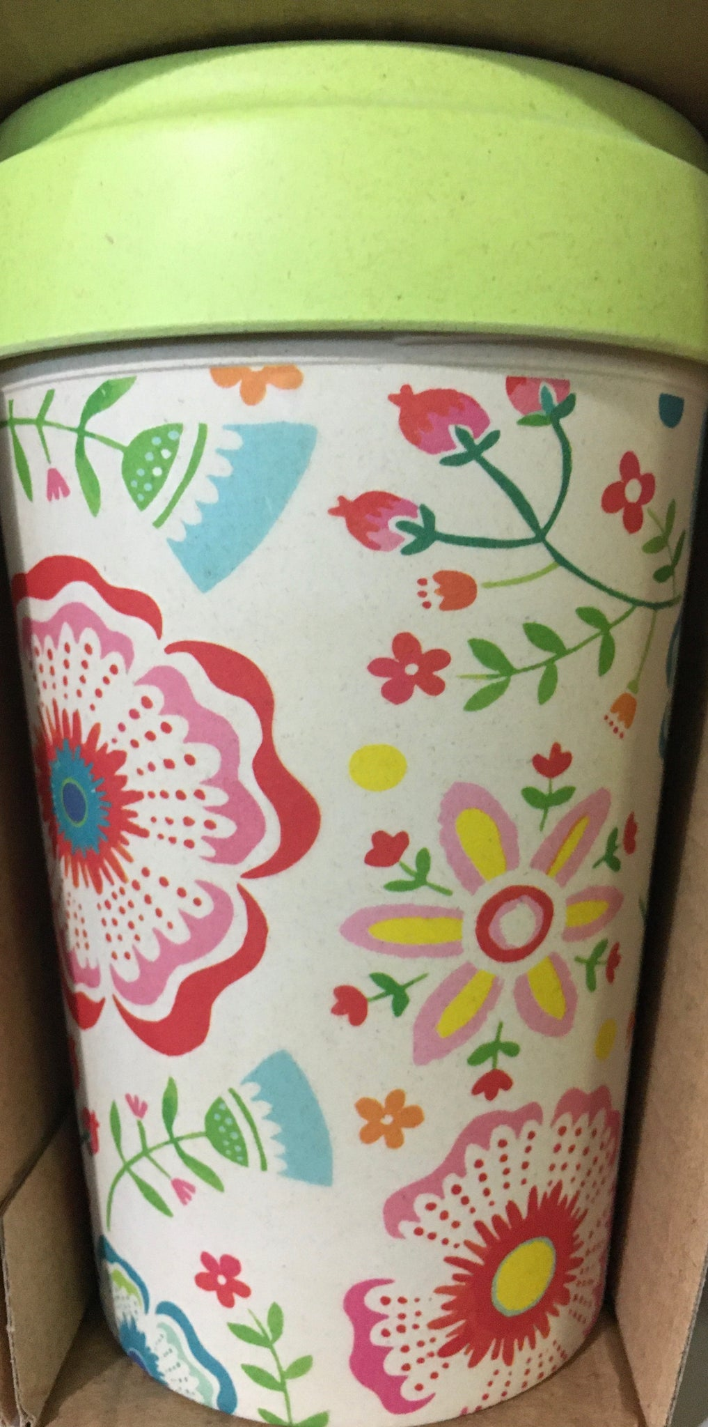 "CHIC BAMBOO CUP ""Skandinavian Floral"""