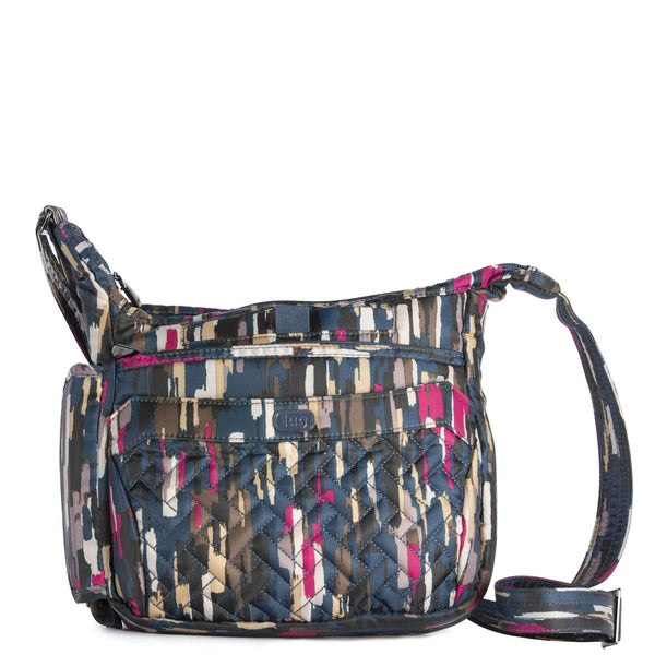 LUG- Flutter Riverwalk Blue Mini Shoulder Crossbody Bag