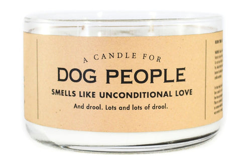 A Double Wick Candle For DOG PEOPLE