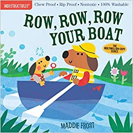 Row, Row, Row Your Boat - Indestructibles Book