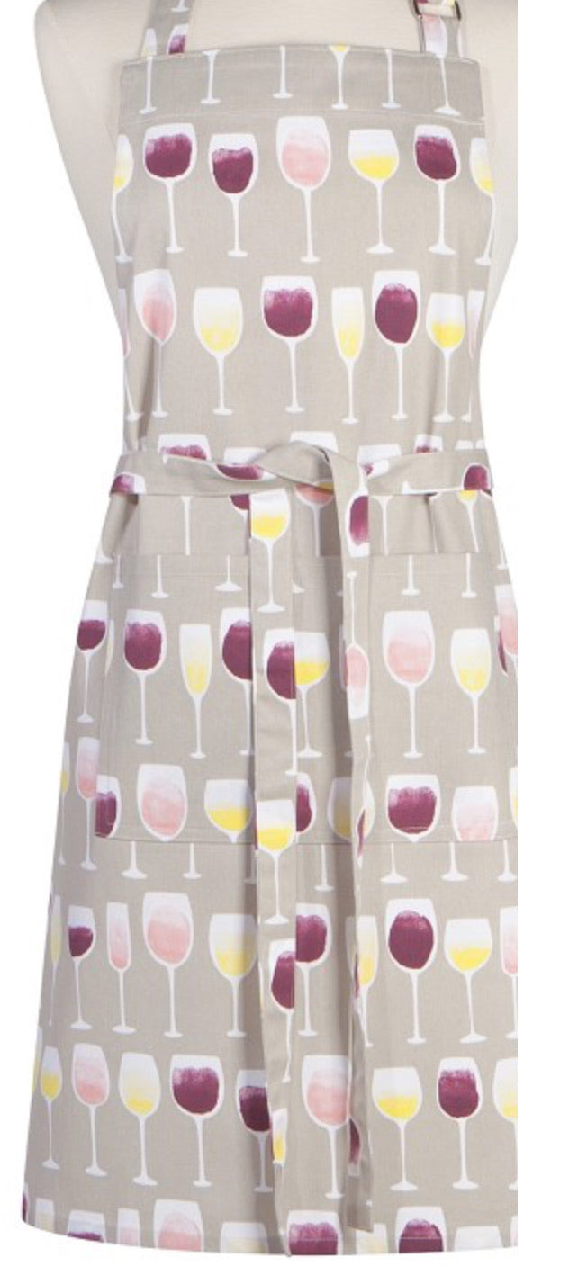 Wine Tasting Chef Apron