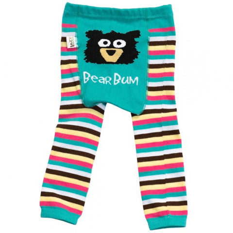 Lazy One Toddler Leggings Bear Bum