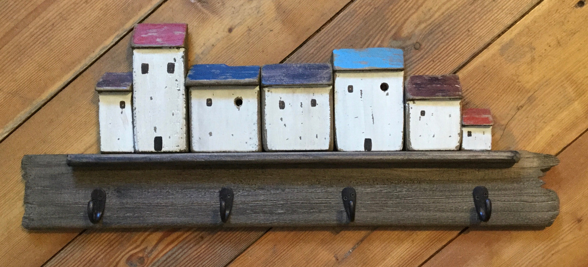 Block House Wall Hooks