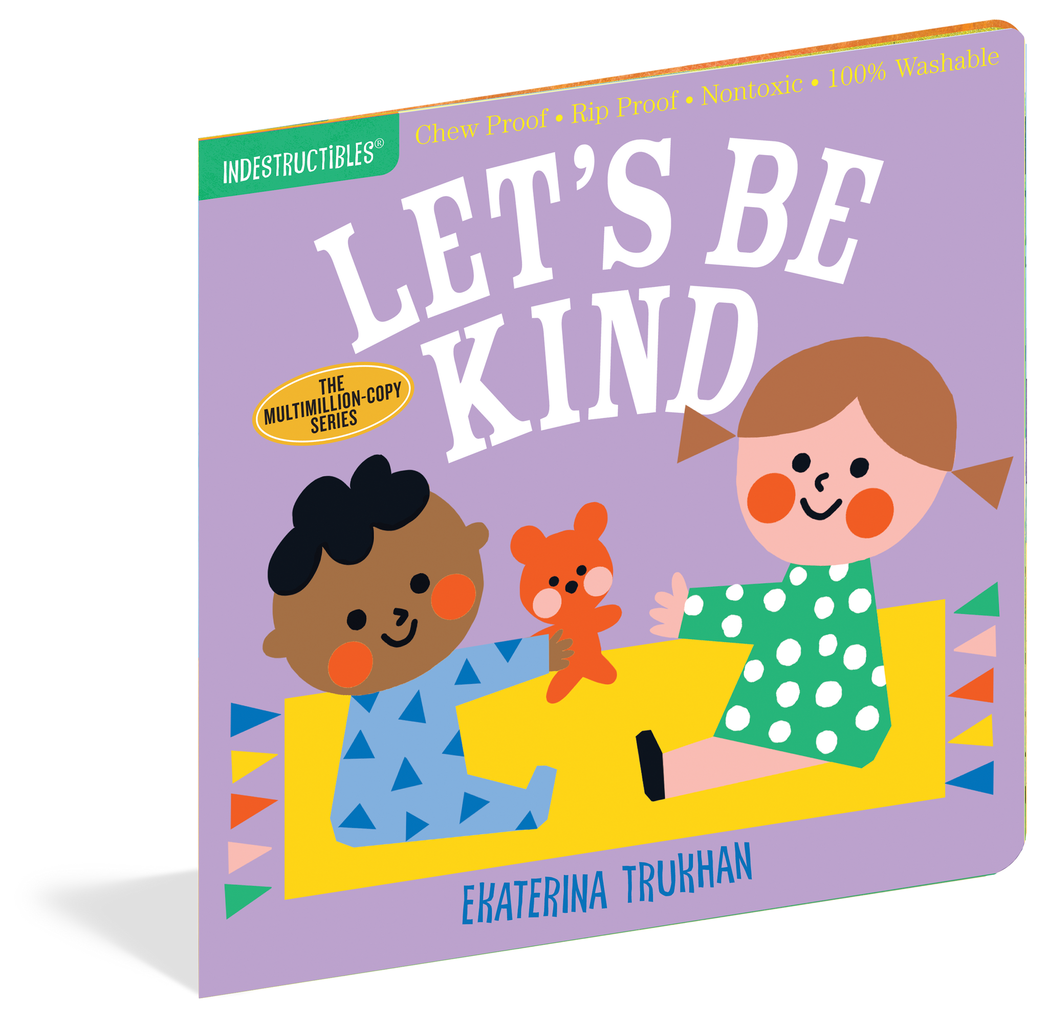 Let's Be Kind - Indestructibles Book
