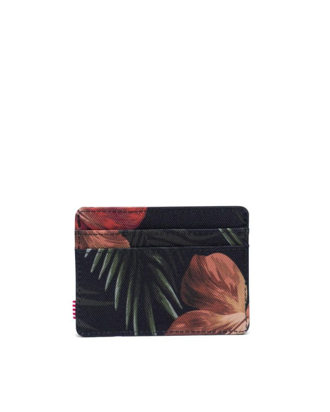 Charlie Cardholder Wallet-TROPICAL HIBISCUS