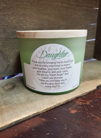 "Earth Angels ""Daughter Vanilla 2-Wick Candle"""