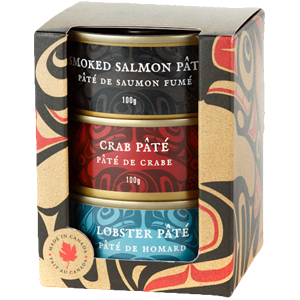 Three Pack of Seafood Pates