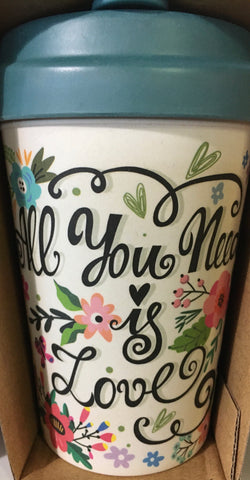 "CHIC BAMBOO CUP ""All You Need is Love"""
