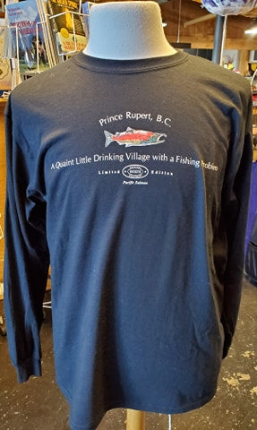 Prince Rupert Little Drinking Village Long Sleeve Tee Shirt