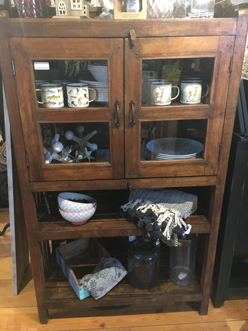 Kitchen Rack Antique Wooden Cabinet
