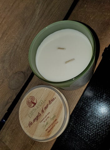 "Earth Angels ""Strength  Vanilla 2-Wick Candle"""