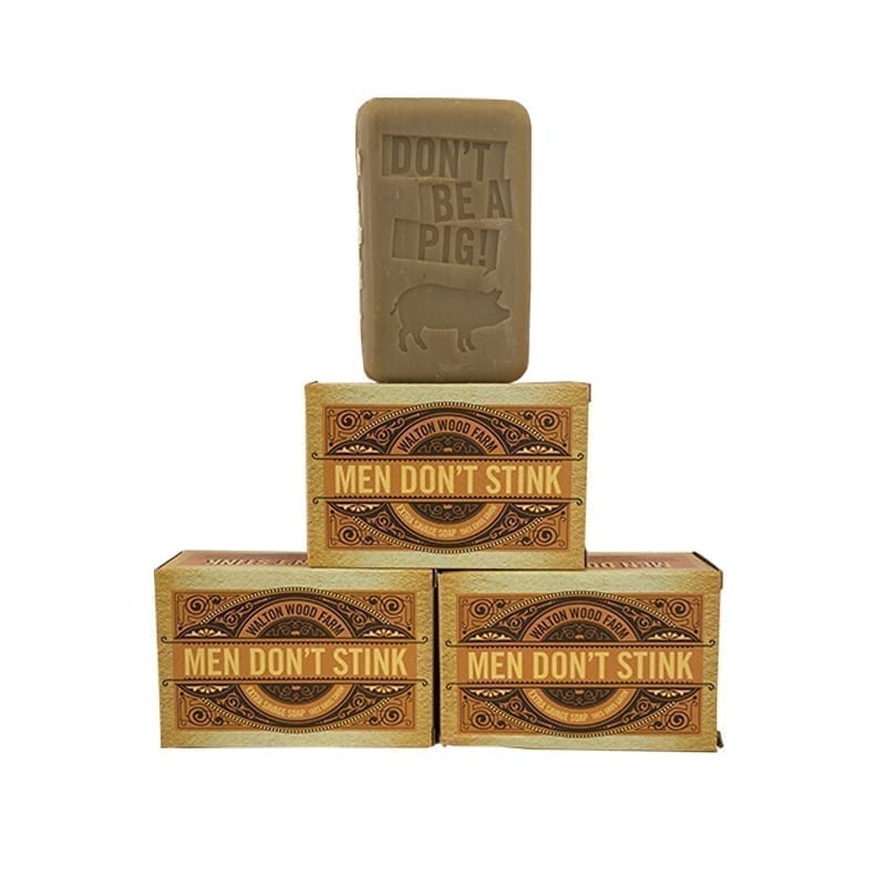 Walton Wood Farm- MEN DON'T STINK Soap Bar