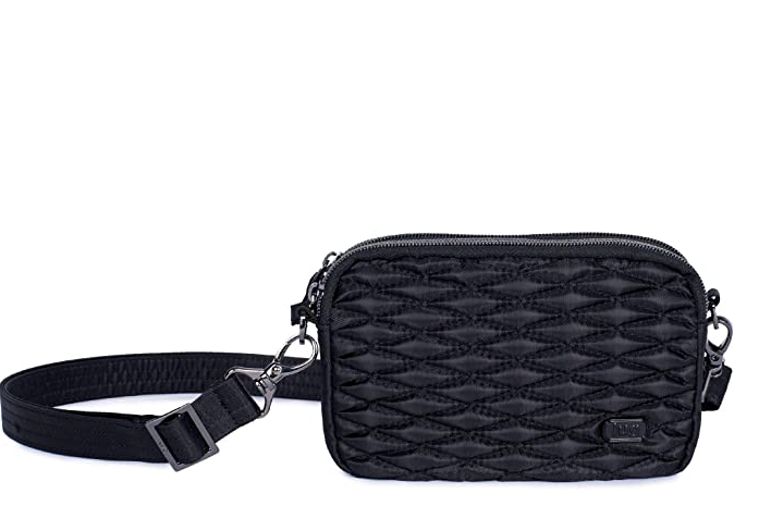 LUG- Coupe Midnight Black Mini Convertible Pouch