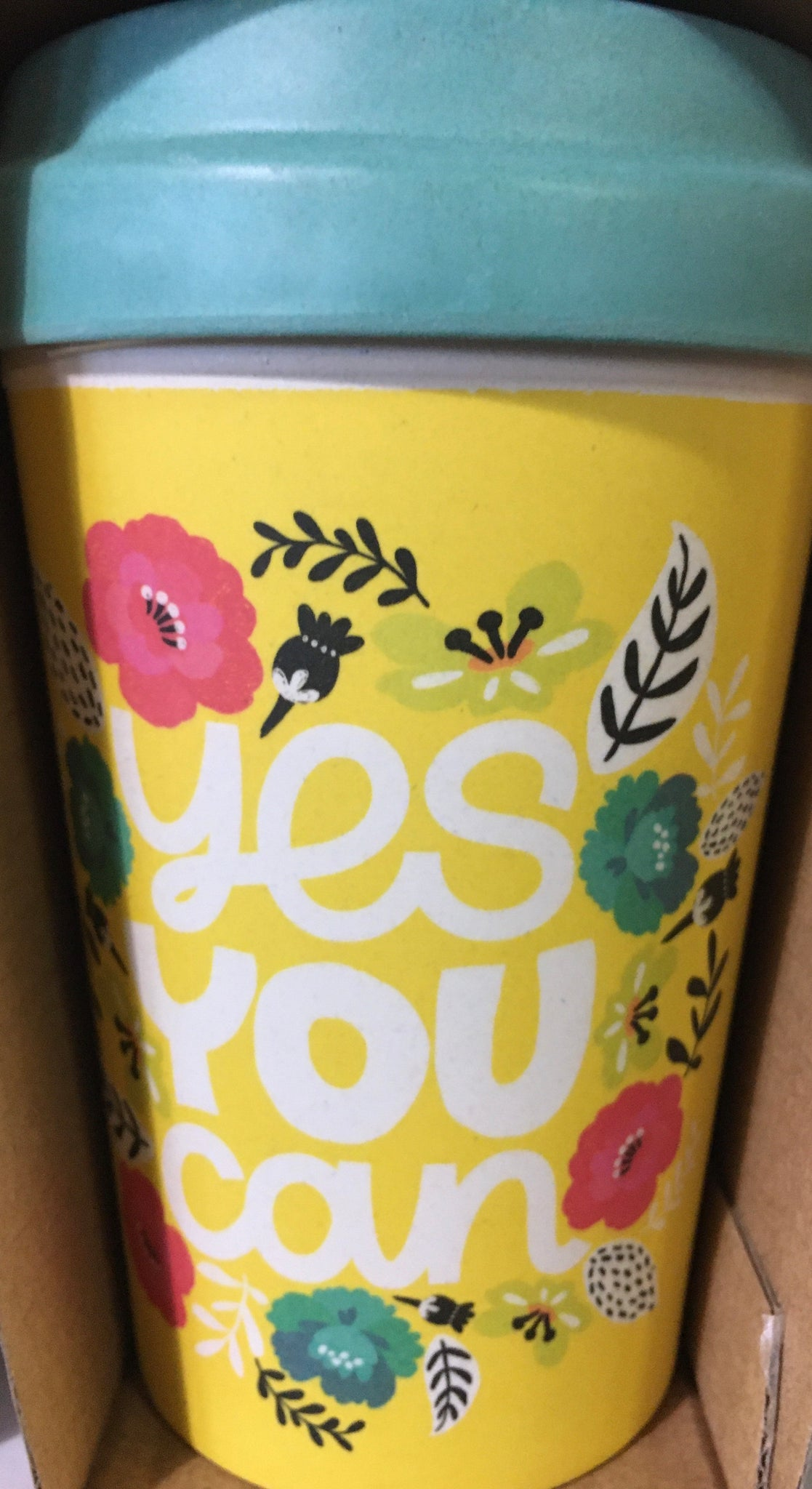 "CHIC BAMBOO CUP ""Yes You Can"""