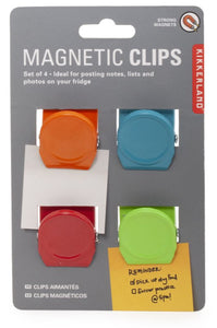 Magnetic Clips S/4