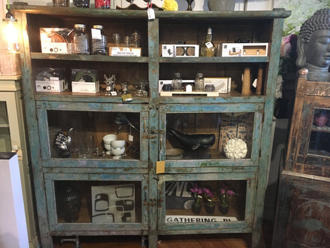 Large Antique Wooden Cabinet
