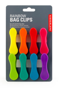 Rainbow Bag Clips