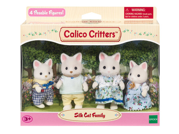 Calico Critters - Silk Cat Family