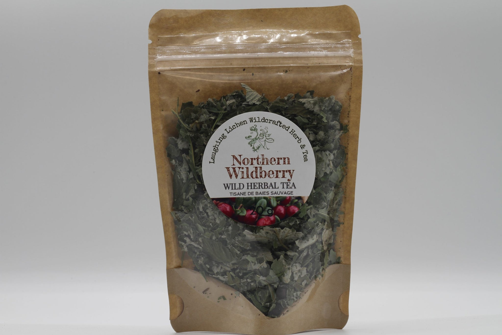 Laughing Lichen Northern WildBerry Wild Herbal Tea 20g