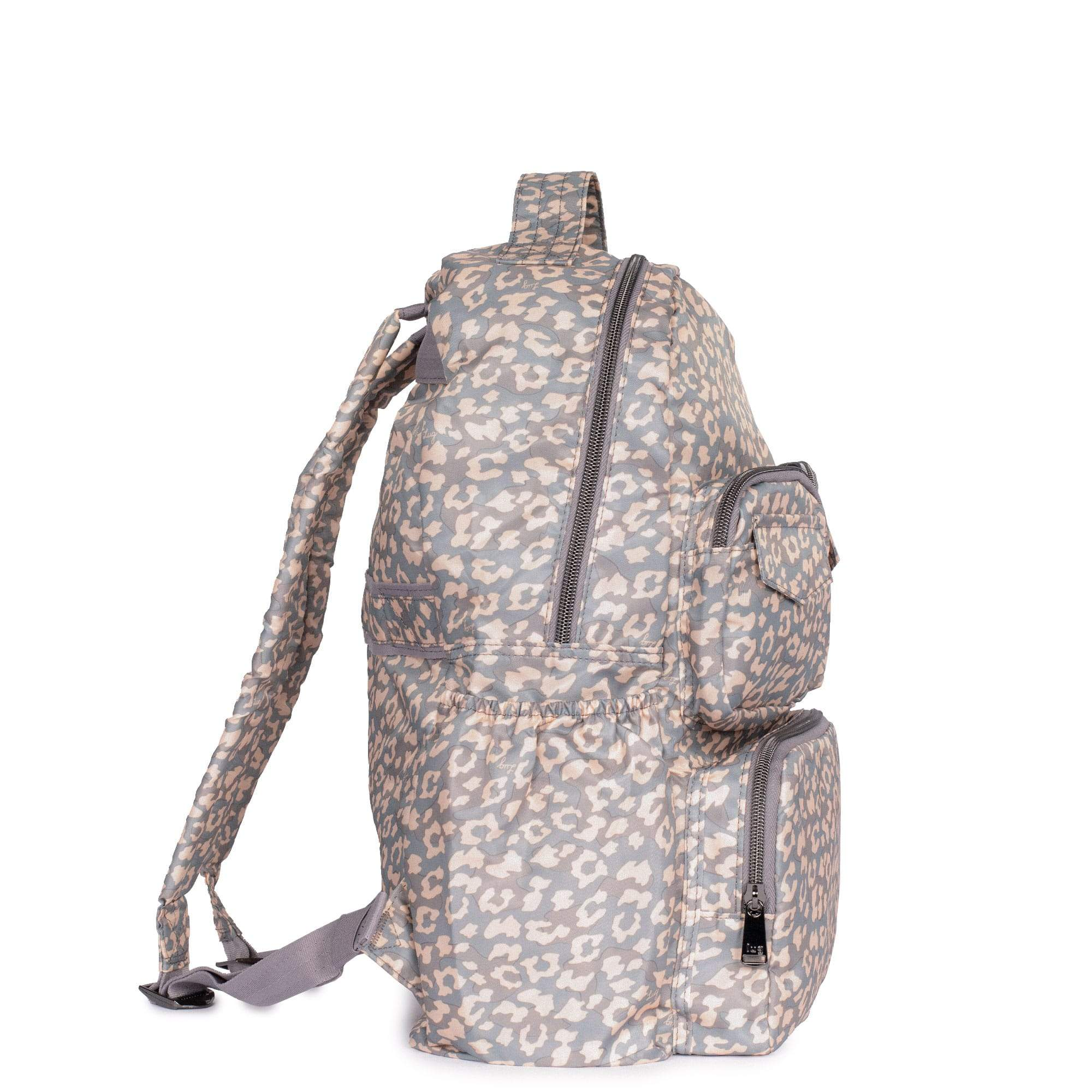 LUG- Puddle Leopard Pearl Packable Backpack