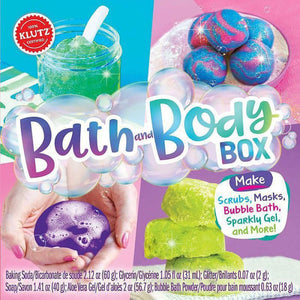 Bath and Body Box - Klutz
