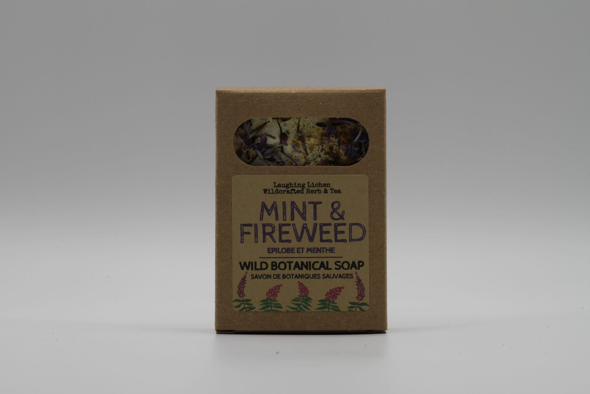 Laughing Lichen Fireweed & Mint  Soap