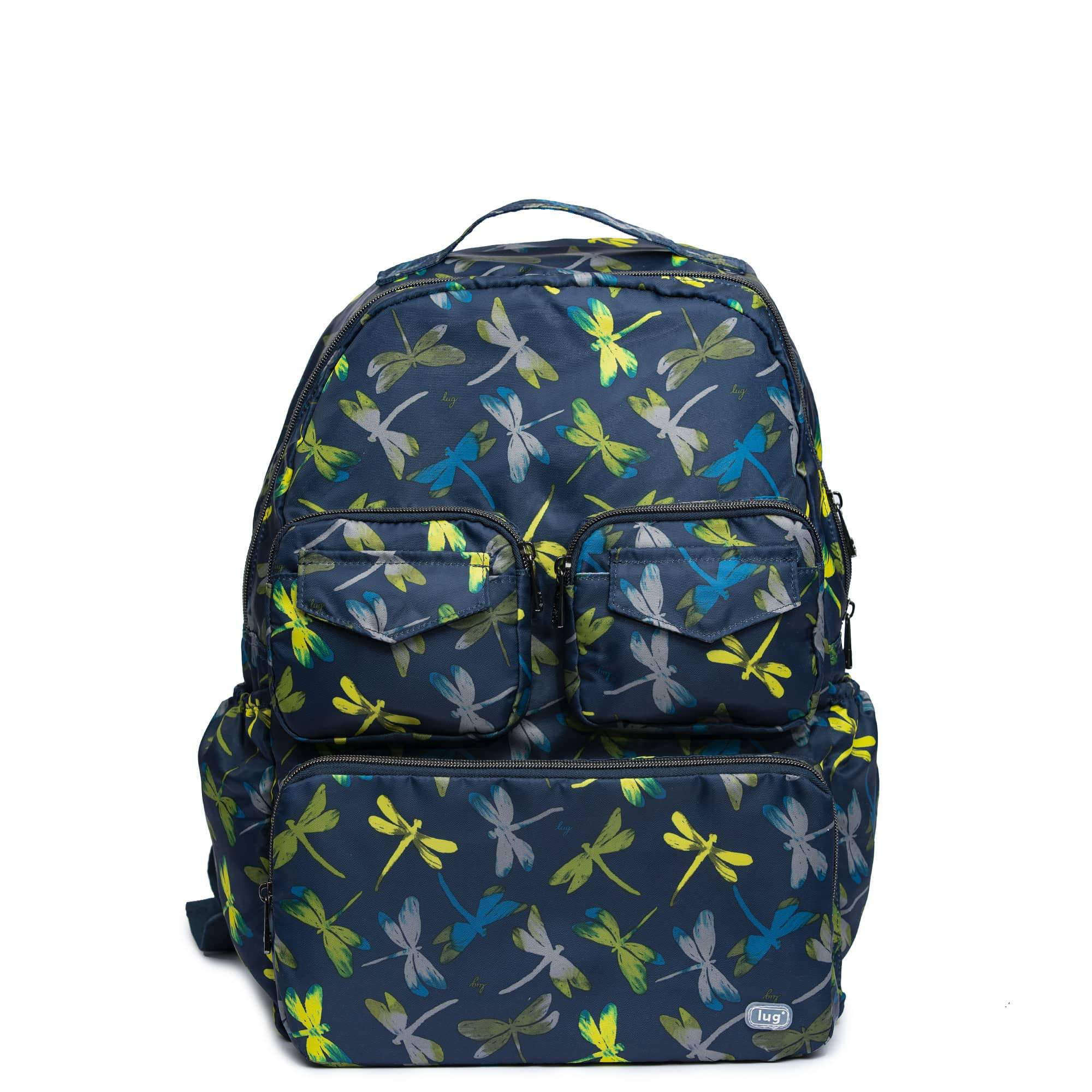 LUG- Puddle Dragon Fly Navy Packable Backpack