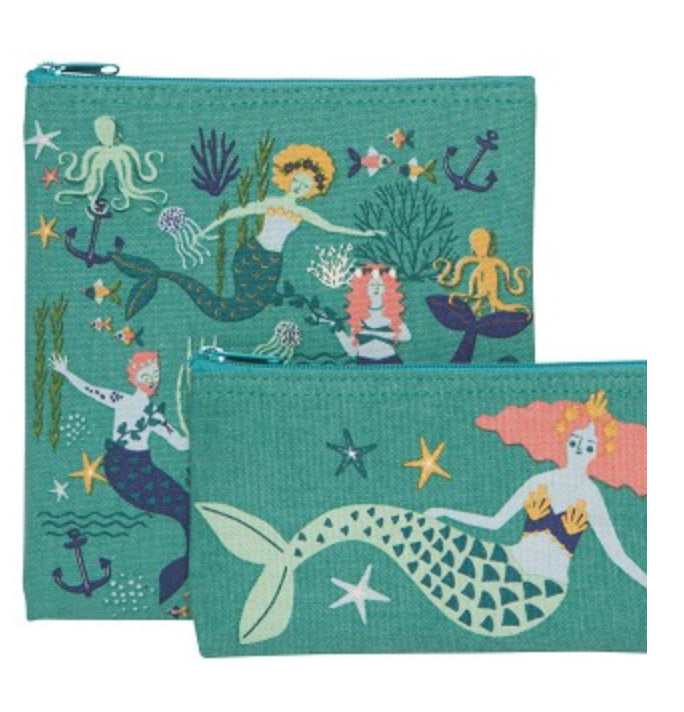 Mermaids- Re-useable/ washable Snack Bag