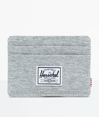 Charlie Cardholder Wallet- LIGHT GREY