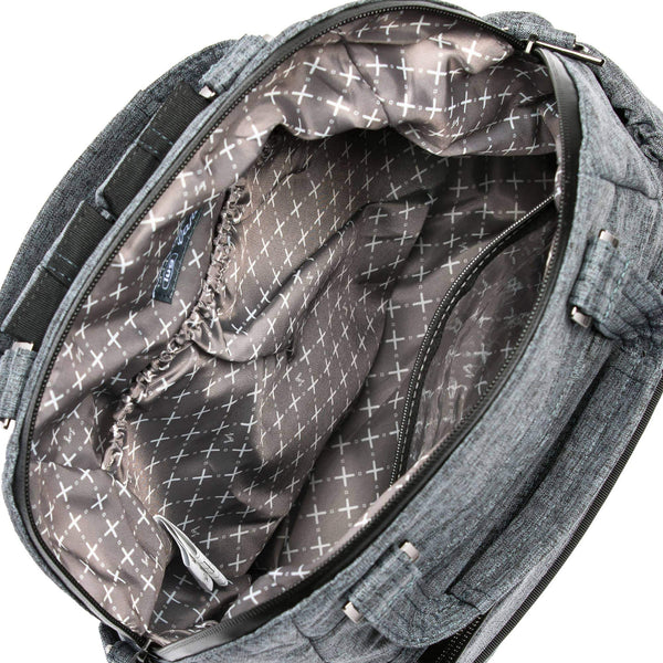 LUG- Canter Heather Grey Crossbody Travel Tote