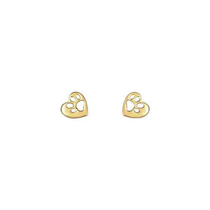 Mimi + Marge BAWA 14K Gold Stud Earrings