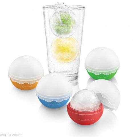 4 Piece Silicone Ice Balls In Tube