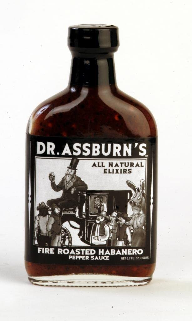 Dr. Assburn's Hot Sauce - Fire Roasted Habanero