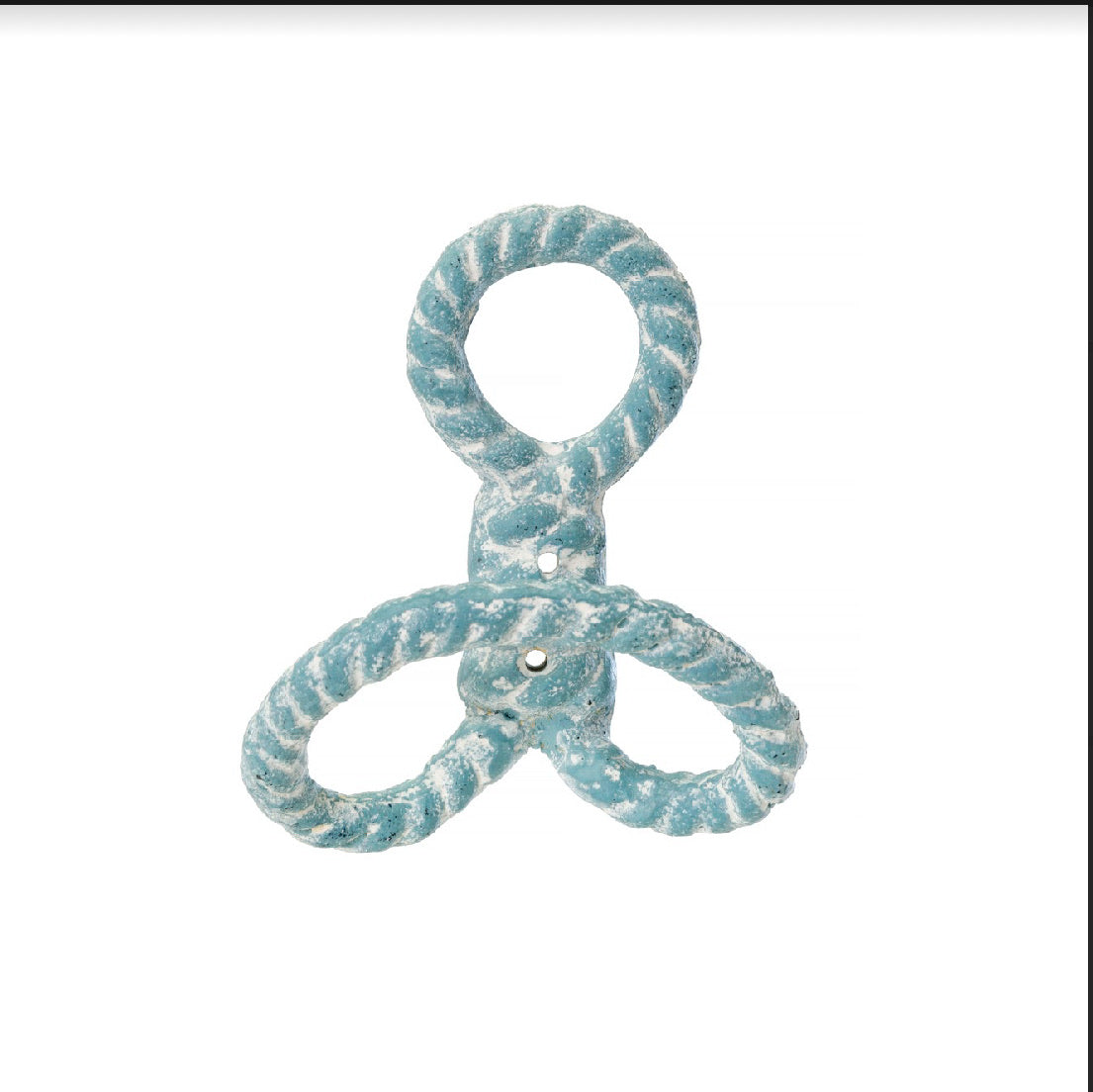 Nautical Knot Hook - Turquoise
