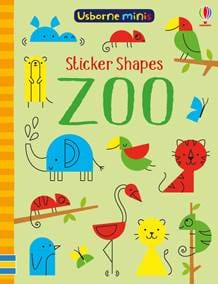 Sticker Shapes - Zoo