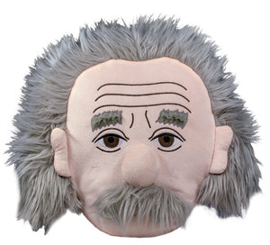 Einstein Stuffed Portrait Pillow