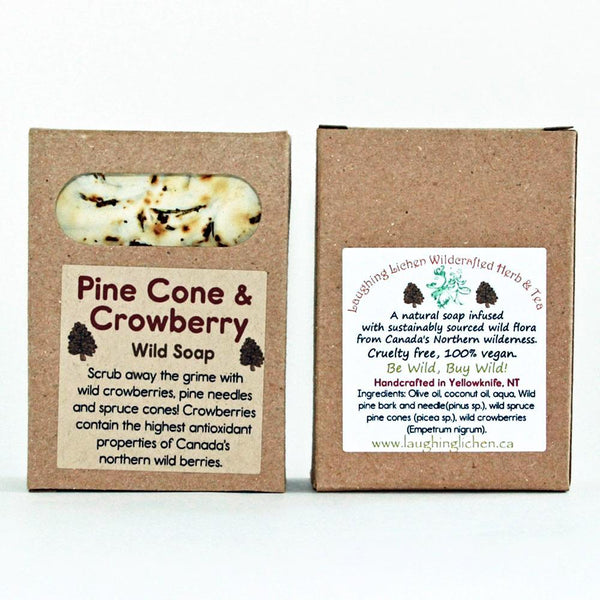 Laughing Lichen Pine Cone & Crowberry Soap