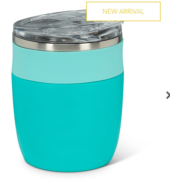 Bevi Insulated Tumbler - Turquoise