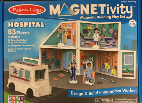 "Magnetivity Magnetic Building Set ""Hospital"""