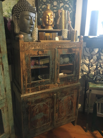 Three Tier Ornate Castle Cabinet