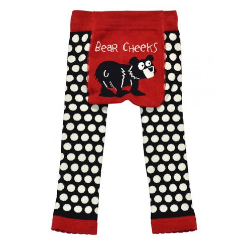 Lazy One Toddler Leggings Bear Cheeks