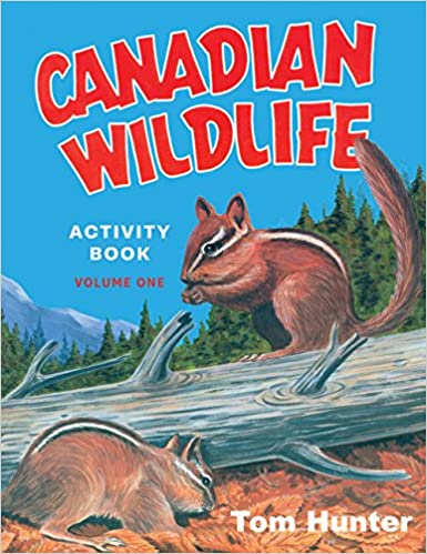 Canadian Wildlife Activity Book v.1