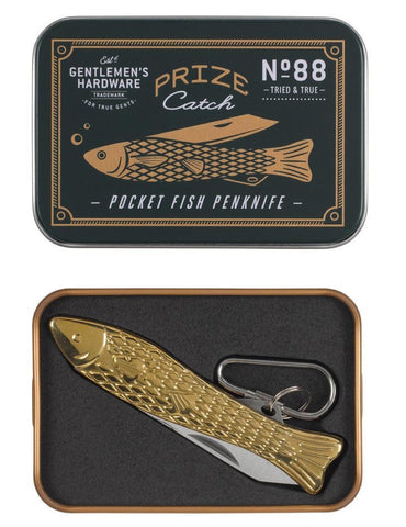 Gentlemen's Hardware Fish Penknife