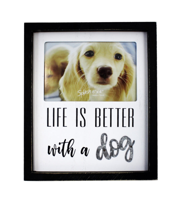 Life Better With Dog Frame