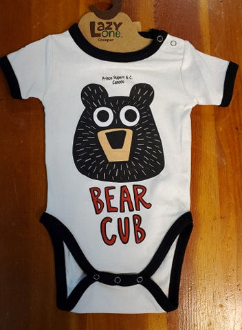 Lazy One Infant Creeper - Bear Cub 12 Months